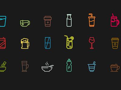 Iconography ux graphic  design vector illustration design icons icon