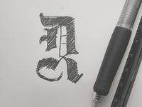 D R Monogram