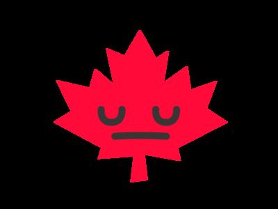 Canada Sticker 😔 sticker mule canada vector