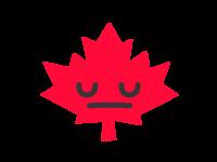 Canada Sticker 😔
