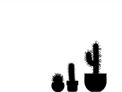 Cactus cactus plant vector