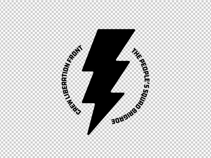 TPSBCLF - Lightning Bolt Logo monogram logo illustration vector