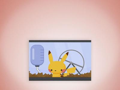 Press Paws Detail: Pikachu