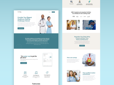 Medely - Landing Page doctor