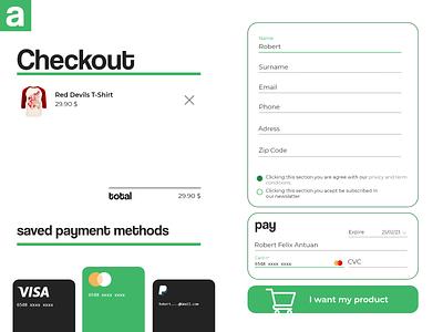 DAY002 | Checkout page web ui checkout page
