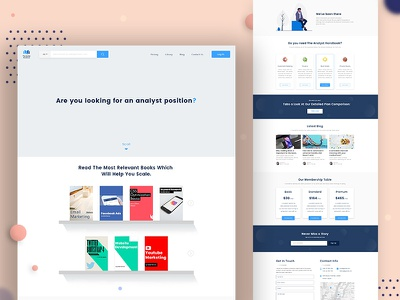 Ecommerce Landing Page financial branding minimalism minamilstic e-learning e-commerce kindle amazon app education app books elearning clean user interface clean website landing page design typography agency illustration homepage education website