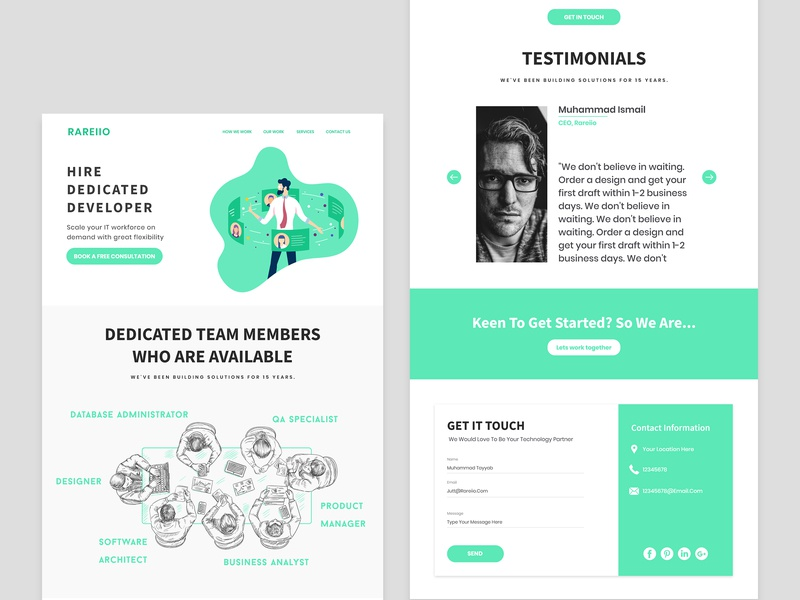 Custom Landing Page design website design ux ui illustrations home page custom landing page design website landing page