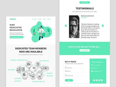 Custom Landing Page design website design ux ui illustrations home page custom landing page design website landing page