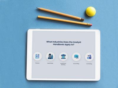 Section design for e-book app