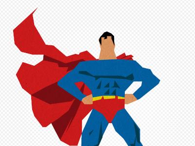 Superman! superman illustration texture