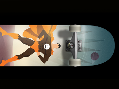 Found a use for this guy! umbraco superman space illustration skateboard
