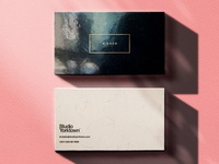 Mikado Business Card Mockup Template