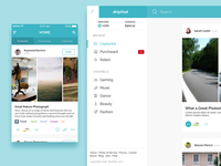 Dripthat Mobile App & Website