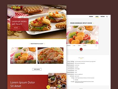 Fiesta Nugget Website by CP Food pokphand recipe chicken food cp nugget fiesta
