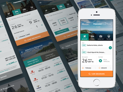 Panorama Tours Mobile App mobile android ios app e-commerce vacation hotel flight travel tours panorama