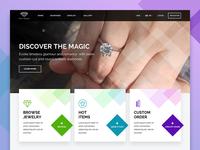 Diamonds Jewelry E-commerce