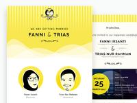 Fatriwed.com - My Wedding Website E-invitation [Fanni & Trias]
