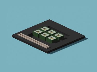 sushi illustration blender 3d blender3dart blender3d blender illustrations illustration art illustrator illustration uiux designer uiuxdesign uiux designer webdesign web ui design