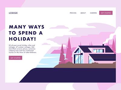 HOUSE ILLUSTRATION // FIGMA house illustration house figmadesign figma illustration uiux designer uiuxdesign uiux designer webdesign web ui design
