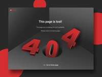 404 PAGE // PINTEREST REDESIGN
