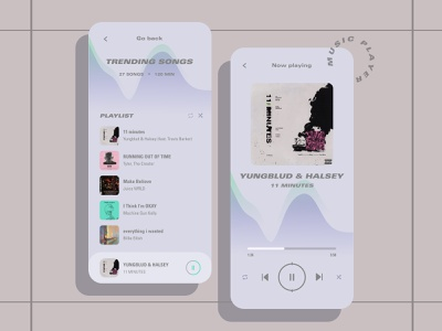 MUSIC PLAYER music player music app music player mobile app design app uiux designer uiuxdesign uiux designer webdesign web ui design