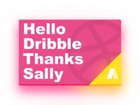 Hola Dribbble