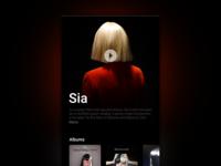 Music App Sia