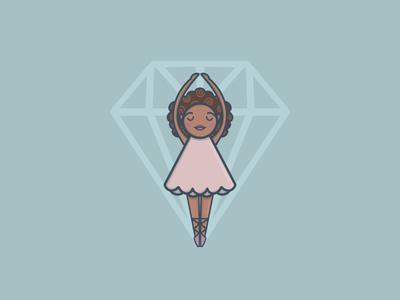 Diamond ballerina