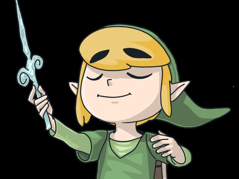The Windwaker comic drawing fantasy character illustration digital ilustración art fan art videogames the legend of zelda zelda link