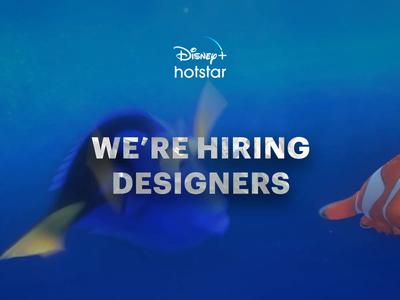 We're Hiring Designers ux ui visual design motion design interaction design ux research productdesign