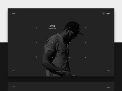 Portfolio Website Redesign V1