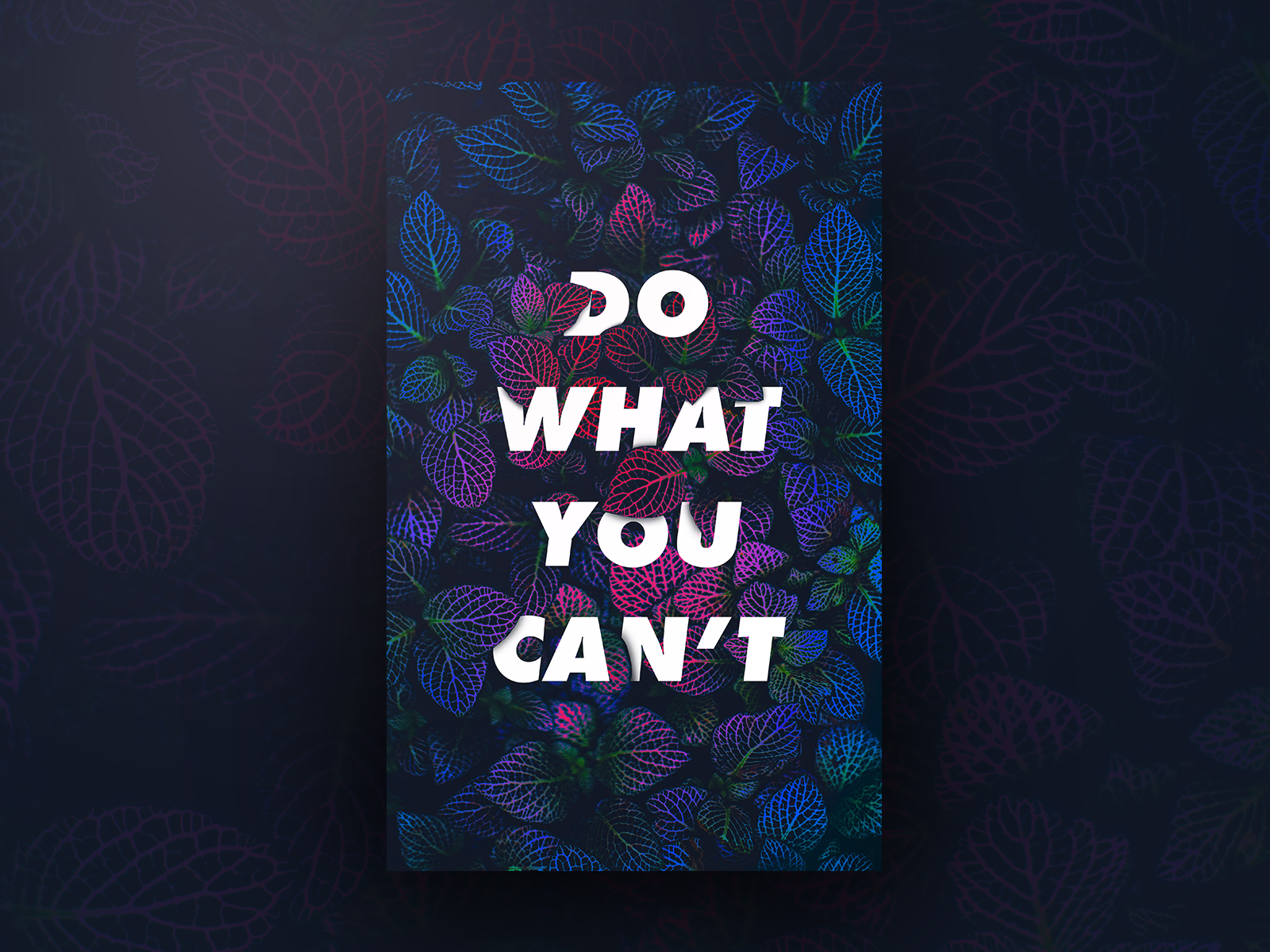 Do what you cant drbl