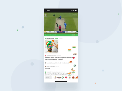 Hotstar - Watch N Play mobile web product design animation interaction motion ux mograph ui