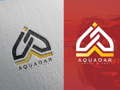 Aquadar Logo design