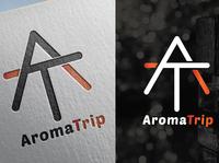Aroma trip logo design