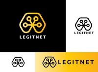 Legitnet Logo design