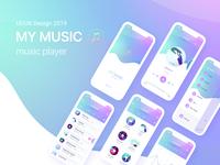 Music Player App Design UI / UX