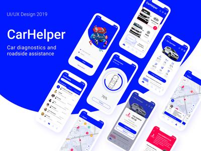 CarHelper – Design App