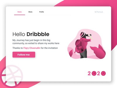 Hello Dribbble dribbble dribbble invite shot minimal design web ux ui