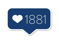 1881 Likes in blue