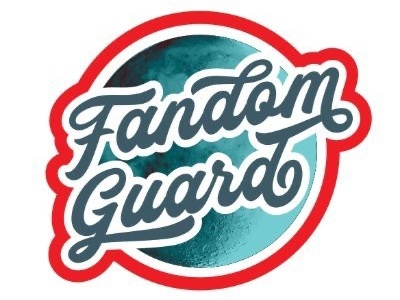 Fandom Guard Logo - now with color moon typography brand identity logo