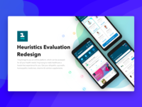1 mg app - Heuristics Evaluation & Redesign
