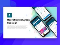 1 mg app - Heuristics Evaluation & Redesign