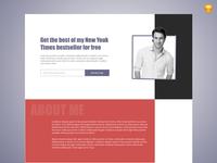 Personal Branding Landing Page