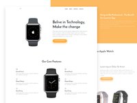 Vex Product Landing Page Template (FREE PSD & Sketch File)