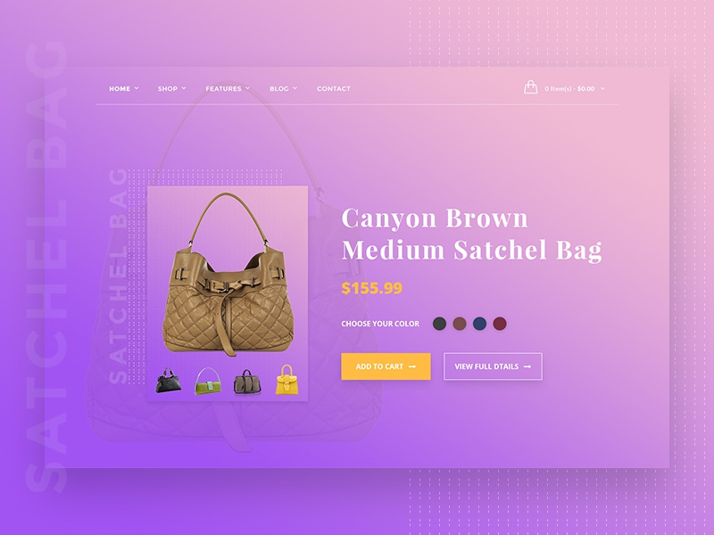 E-Commerce Product Card Concept (Free PSD) product single page product details clean-design product-showcase product-card e-commerce