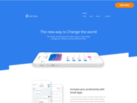 Small Apps Free App/SAAS/Startup Website Template