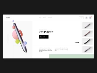 Nokki - Homepage V1