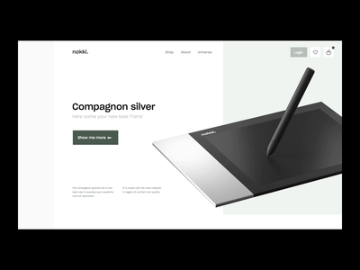 Nokki - Homepage V2