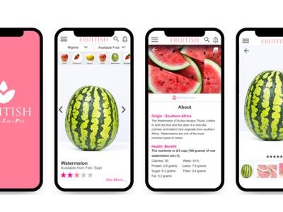 Fruitish Fruit App